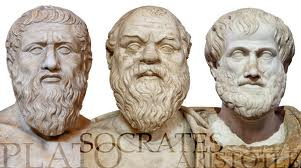 Платон, Сократ, Аристотел